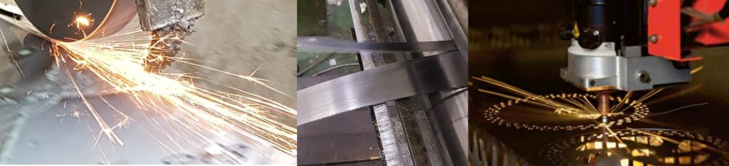 Steel Profiling and Processing Services- Sheffield UK - High Quality Steel Profiling - BSS Spring Steel Strip