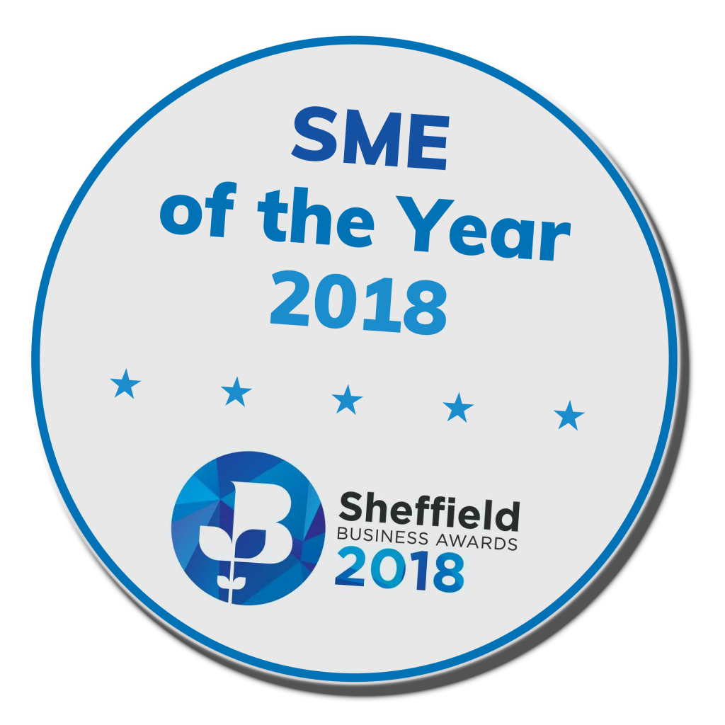 Fernite of Sheffield Ltd are SME of the Year 2018 at the Sheffield Business Awards